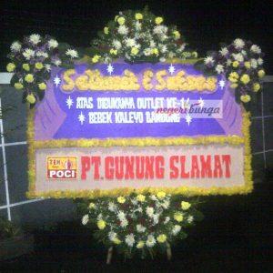 Bunga papan selamat Bandung