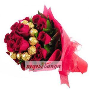 hand bouquet jakarta tercantik