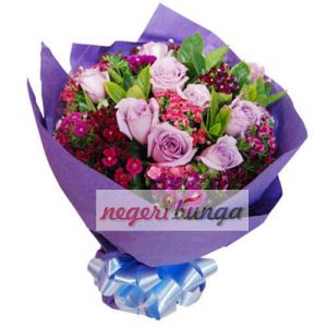 hand bouquet samarinda tercantik